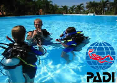 PADI dive course Thailand and burma
