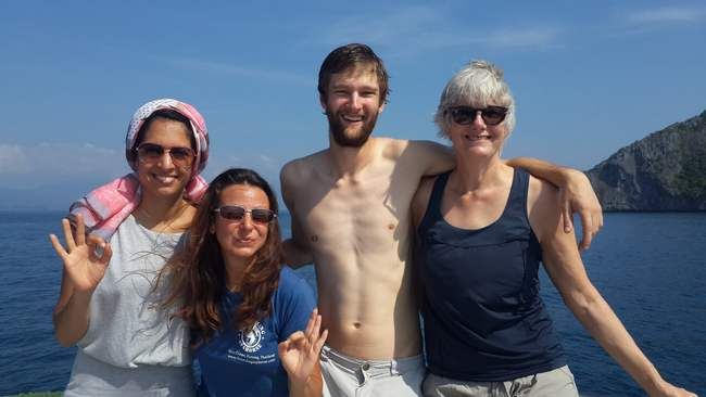 Congratulations to Tracee, Adam and Cigdem for passing their Advanced Open Water!