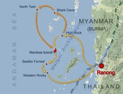 6 days burma: long cruise