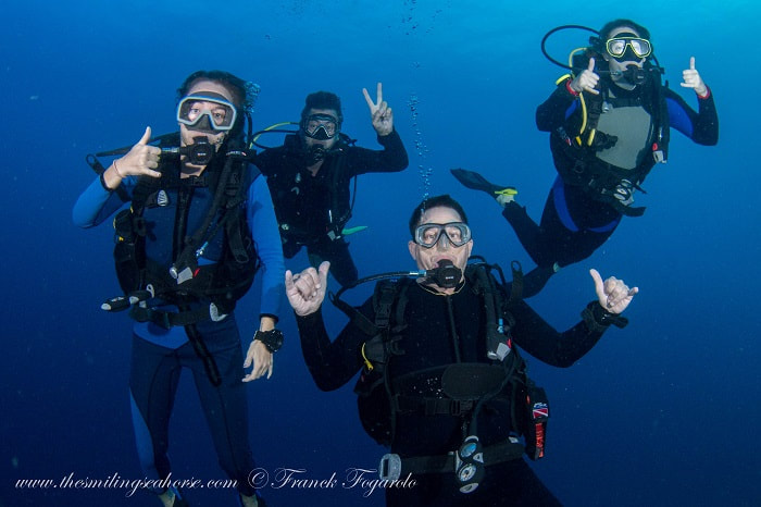 PADI advanced open water in surin and similan islands