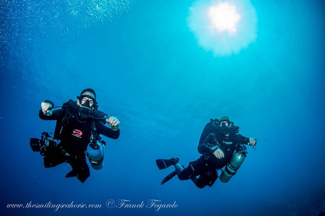diving thailand with rebreather